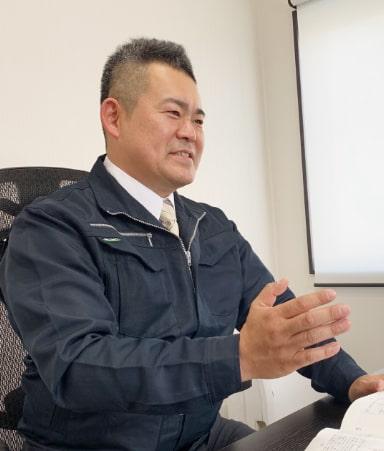 写真 : 代表取締役 渡邉 輝敏
